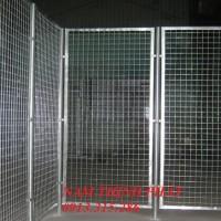Hàng rào lưới hàn chập xây dựng 01