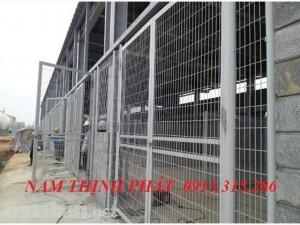 Hàng rào lưới hàn chập xây dựng 03