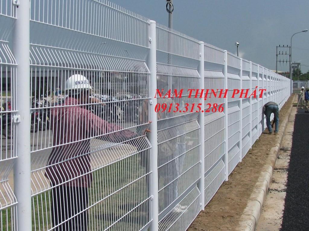 hàng rào lưới hàn chập chất lượng cao