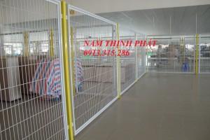 Hàng rào lưới hàn chập xây dựng 05