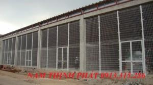Hàng rào lưới hàn chập xây dựng 06