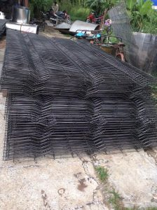 Lưới hàn chập xây dựng